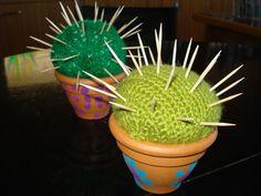 ARGE Kleinschulen in Vorarlberg: > Textiles Werken Cactus maybe combine it with pictures of children of the class?