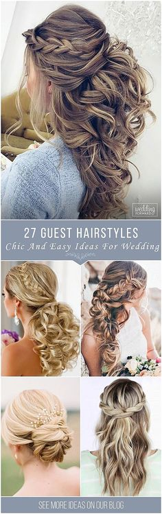 Hairstyles For Wedding Guest Easy Hairstyle For Wedding Guest  Google Search  Gallery