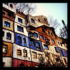 #Hundertwasserhaus #Kunsthaus Vienna