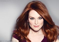 Still looking young: The 53-year-old gave a seductive smolder to the camera dressed in a s...