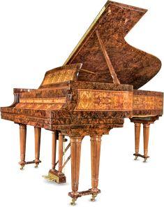 Wow! Burl wood piano