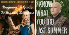 "If ""Game Of Thrones"" Characters Were Authors"