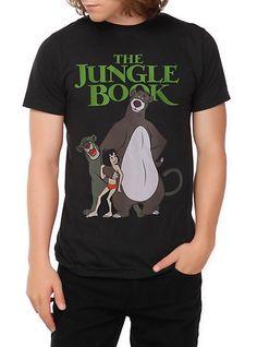 Disney The Jungle Book Slim-Fit T-Shirt | Hot Topic