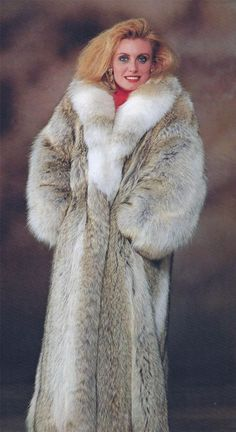 coyote fur coat | Wild Wolf and Coyote Furs | Pinterest | Fur coat ...