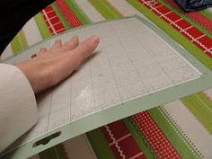 Make Cricut cutting mat sticky again.