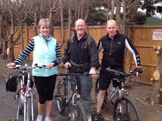 A team of three Kier Services employees joined the Butterfly Hospice Trust sponsored bike ride for the second year running. Trisha Sweeney, Bob McMath and Dean Brookes from the maintenance team in Boston raised around Hospice, In Boston, A Team, Dean, Two By Two, Trust, Bob, Butterfly, Community