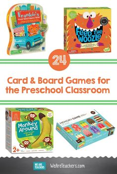 Games teach direction following, collaboration, and even failure. Check out the best board games for preschoolers, as recommended by teachers. Toddler Board Games, Preschool Board Games, Fun Board Games, Preschool Classroom, Preschool Activities, We Are Teachers, Cooperative Games, Student Motivation, Social Emotional Learning