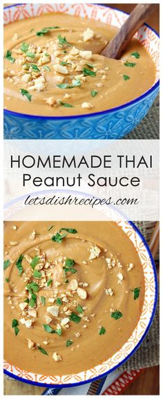 thai recipes Homemade Thai Peanut Sauce Recipe: Coconut milk, peanut butter, curry paste, lime juice and seasonings come together in this flavorful sauce thats perfect on grilled chicken or your favorite stir-fry. Peanut Butter Curry, Peanut Butter Sauce, Coconut Peanut Butter, Thai Peanut Sauce Chicken, Peanut Butter Chicken, Coconut Milk Recipes, Peanut Sauce Recipe, Sauce Recipes, Cooking Recipes