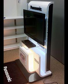 Panasonic 3D TV on Behance