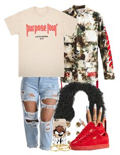 """7/15/16"" by jasmineharper ❤ liked on Polyvore featuring Off-White, Kevyn Aucoin, Puma, Casetify and Gorjana"