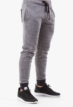 The Fremont French Terry Jogger Sweatpant in Charcoal