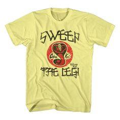 Karate Kid Cobra Kai Justice 4 Johnny Lawrence Men/'s T-Shirt William Zabka 80/'s