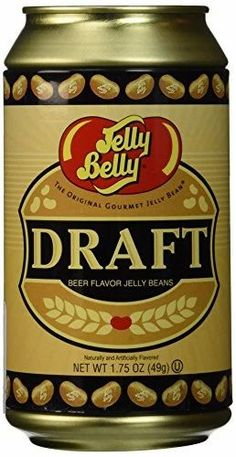 Jelly Belly Draft Beer Can Gourmet Jelly Beans, Jelly Belly Beans, Candy Companies, Wine And Beer, Best Beer, Beer Lovers, Unique Recipes, The Fresh, Gourmet Recipes
