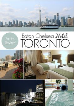 Eaton Chelsea Hotel in Toronto Canada. A family friendly hot spot for your next family vacation. Hotels In Toronto Canada, Toronto Travel, Canada Travel, Asia Travel, Vacation Travel, Bad Hotel, Kids Attractions, Chelsea Hotel, Toronto Island