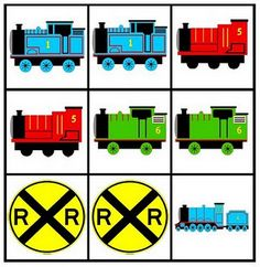 Matching Trains, my son will love this game, he loves to find matches and trains