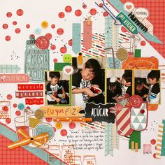 #scrapbook #layout #4fotos