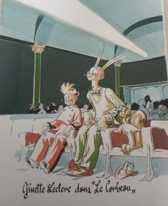 Spirou sous le manteau by Al Severin - Comic Strip