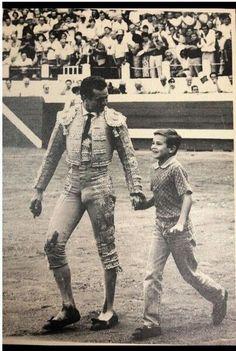 JoseMari Manzanares, con Manzanares padre