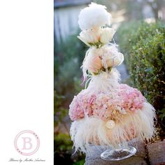 Marie Antoinette wedding - centerpieces but upside down Feather Centerpieces, Wedding Centerpieces, Purple Party Decorations, Wedding Decorations, Fantasy Wedding, Dream Wedding, Wedding Themes, Wedding Designs, Happy Birthday Flower Cake