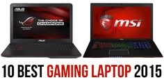 10 Best Gaming Laptop Review of 2015