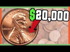 Check your pocket change for these rare pennies worth money! Lincoln Cent varieties and even the 1990 No S Proof Penny worth thousands are in this video. Valuable Pennies, Rare Pennies, Valuable Coins, Rare Coin Values, Old Coins Value, Rare Coins Worth Money, Coin Worth, American Coins, Error Coins