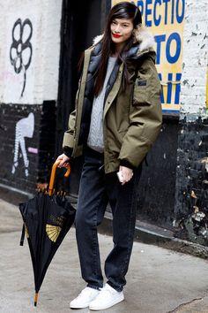 29 Winter Wardrobe Ideas From New York Fashion Weeks Street Style Stars
