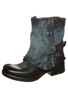 Cowboy/Biker boots - blue