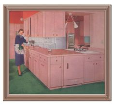 LILEKS (James) Institute :: Permanent Collection :: Kitchens - 1952