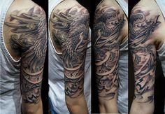 Chronic ink Tattoos, Toronto Tattoo - Custom phoenix by BKS.