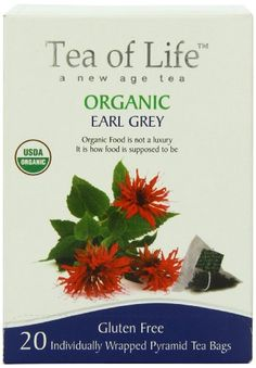 Tea Of Life Organic Earl Grey 20 Count >>> You can find out more details at the link of the image. Note: It's an affiliate link to Amazon.