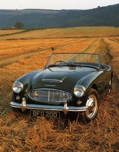 Had a 1964 Austin Healey 3000 MK III myself in 1969. I was stationed in Alamagordo, New Mexico. I got orders to Vietnam so decided to drive home to Oregon for my leave. I cracked the cylinder head outside of Barstow, California and sold the car to a mechanic for what I owed on it, plus the bus ticket to Oregon. Improve your gas mileage by 15%. Works on any truck or car. Check it out