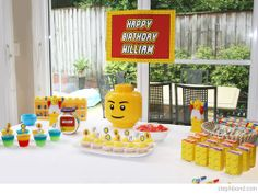 Bondville Lego Party For 6 Year Old William Birthday 6th Parties