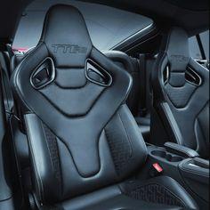 Scary space ship car interior...  Audi TT RS Plus Interior