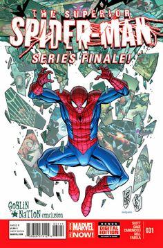 Vecchio Logan: Preview Superior Spider-Man #31 - Finale di Stagio...