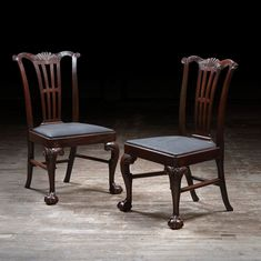 Pair Of Dining Chairs Attrib. To Alexander Peter - Antiques Atlas