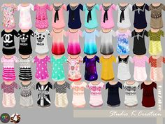 Giruto12-long-sweater-toddler versionstandalone / 38 colors / new mesh by me / base game /fit to all body/ find at the short dress categoryMediafire download&n