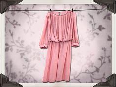 1970s Powder Pink Dress by mycarouselcloset on Etsy, $20.00