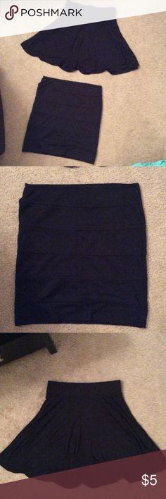 Sz M party skirts Black Mini skirts Forever 21 Skirts Mini