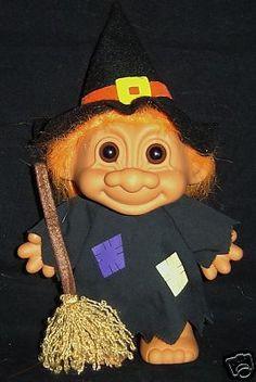 Halloween Witch Troll Doll