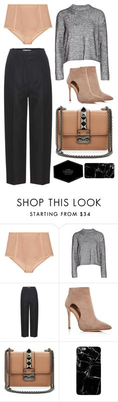 """""""Optimistic"""" by cherieaustin ❤ liked on Polyvore featuring Gucci, T By Alexander Wang, Acne Studios, Pour La Victoire and Valentino"""