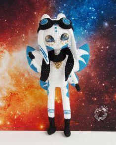 Crochet Patterns Amigurumi, Amigurumi Doll, Crochet Dolls, Crochet Fairy, Crochet Dragon, Aliens, Princesa Tiana, Crochet Monsters, Doll Tutorial