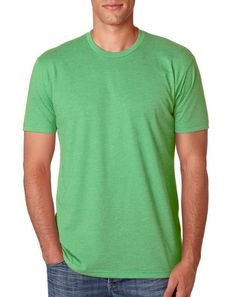 Next Level N6210 Mens Premium Fitted CVC Crew Tee | Blank Wholesale T shirts