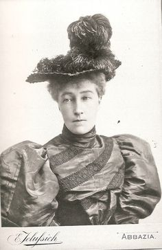 Princess Stephanie of Belgium, who was the widow of Archduke Rudolph of Austria.  She remarried and had a happy life with a husband who adored her.