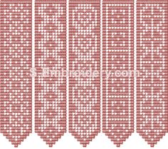 Freestanding Lace Crochet Bookmarks machine embroidery designs set