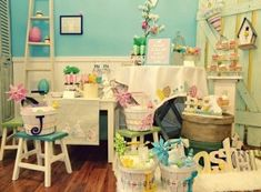 Shabby Chic easter Party by TinyCarmen