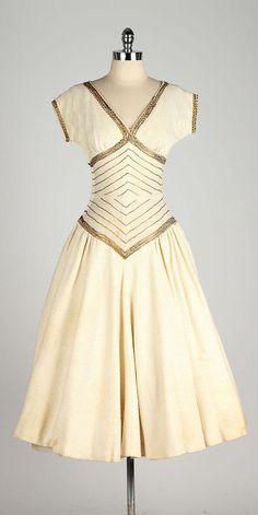 Hollywood & Vine vintage 1950s dress . by millstreetvintage