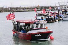 Kalastajat kampanjoivat Brexitin puolesta.