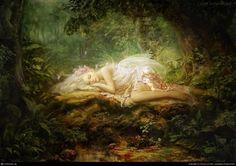 By: Kim Hyong Jun--sleeping fairy