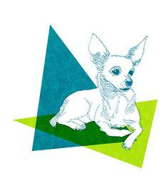 Dog Portraits by Ann Shen @anndanger