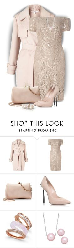 """Wear it in a Lace Dress"" by sarahguo ❤ liked on Polyvore featuring Miss Selfridge, Dorothy Perkins, LC Lauren Conrad, Casadei and Paul & Pitü Naturally"